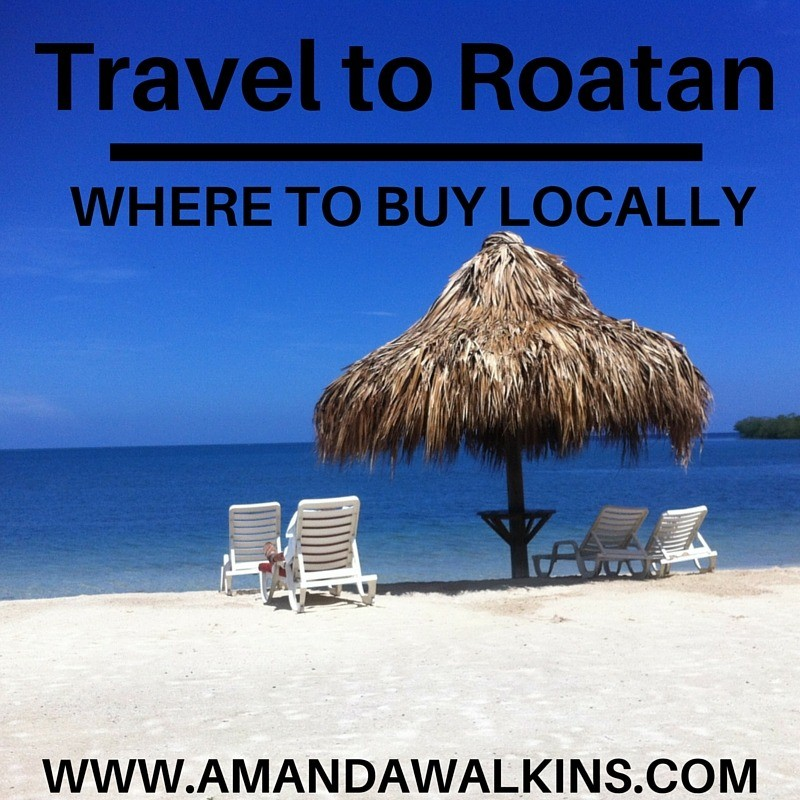 where to shop in Roatan