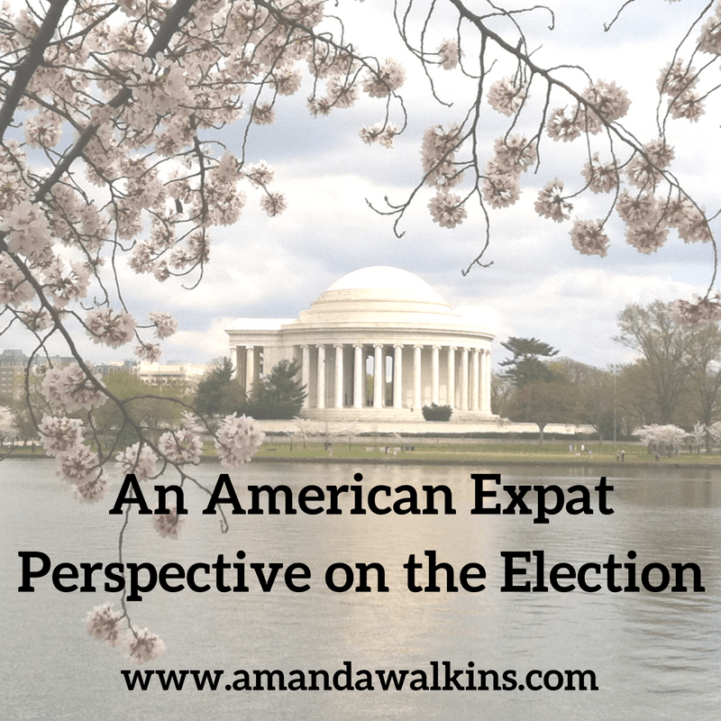 American expat 2016 election
