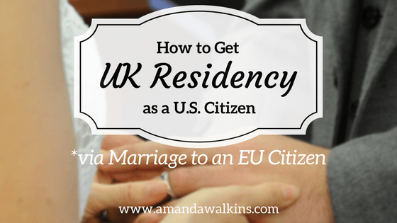 How a US citizen applied for UK residency through marriage to an EU national