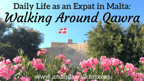 Daily Life as an Expat in Malta - Walking Around Qawra