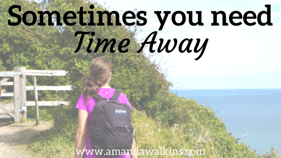 taking time away from my blog