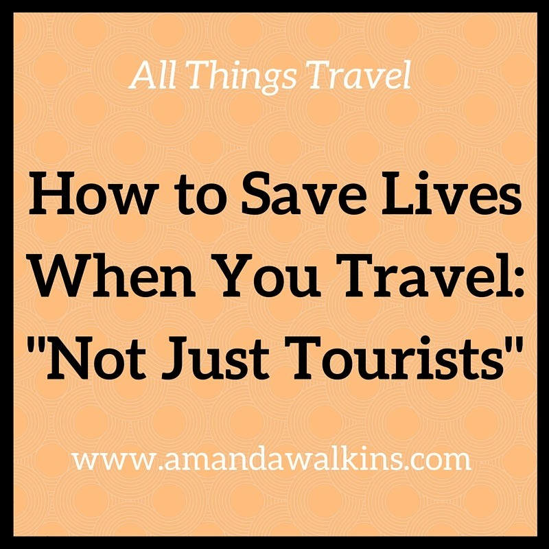 save lives when you travel
