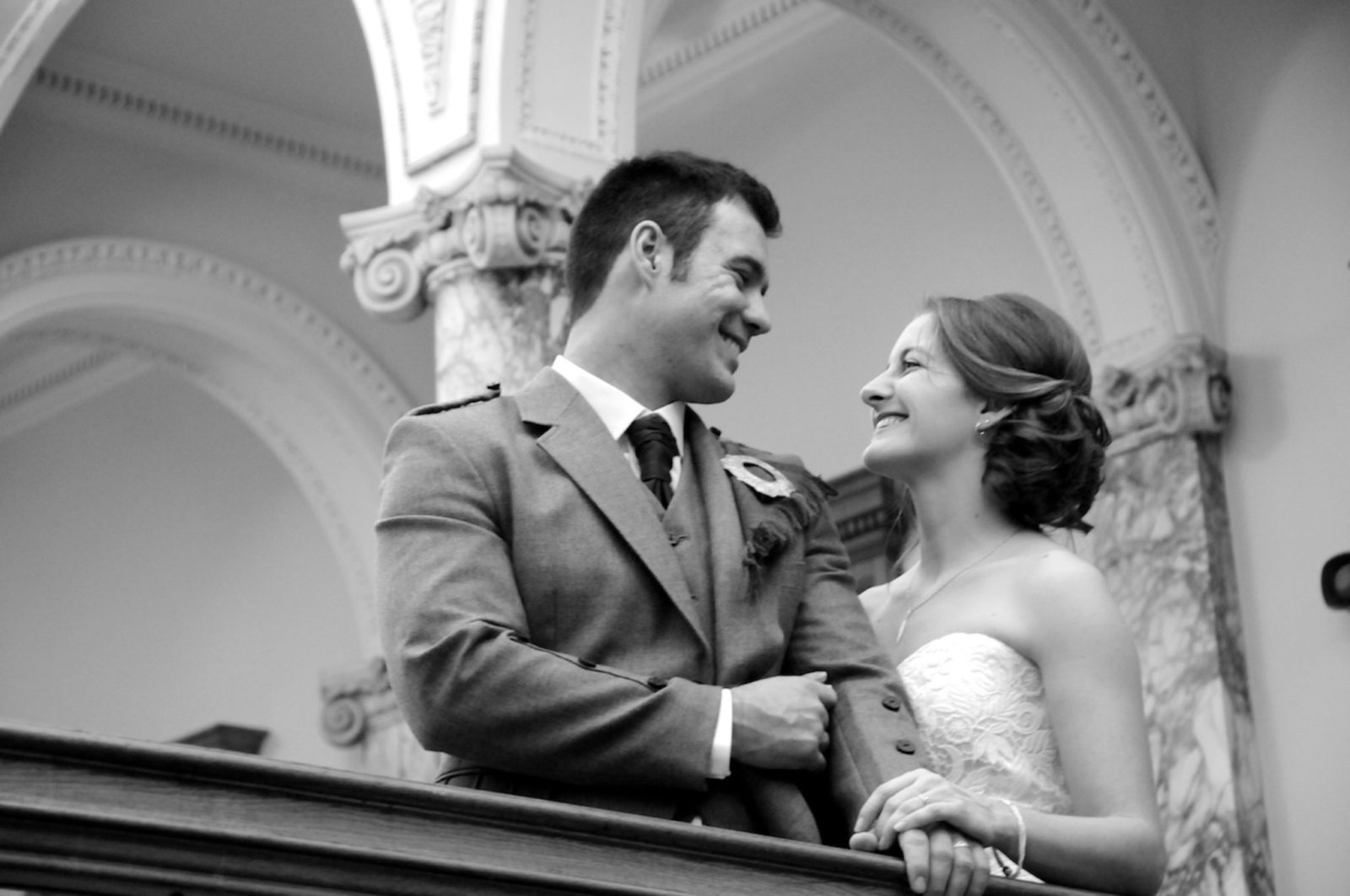 Edinburgh wedding