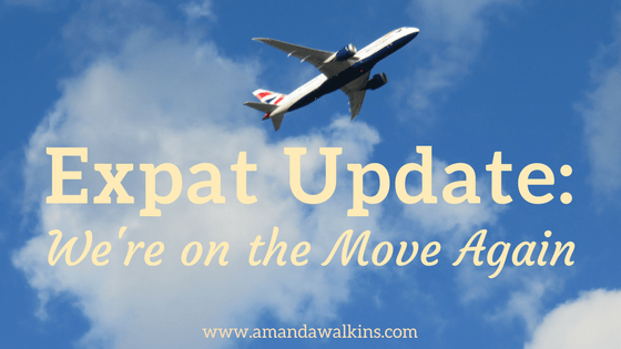 Why we're on the move again! This time from Malta to...?
