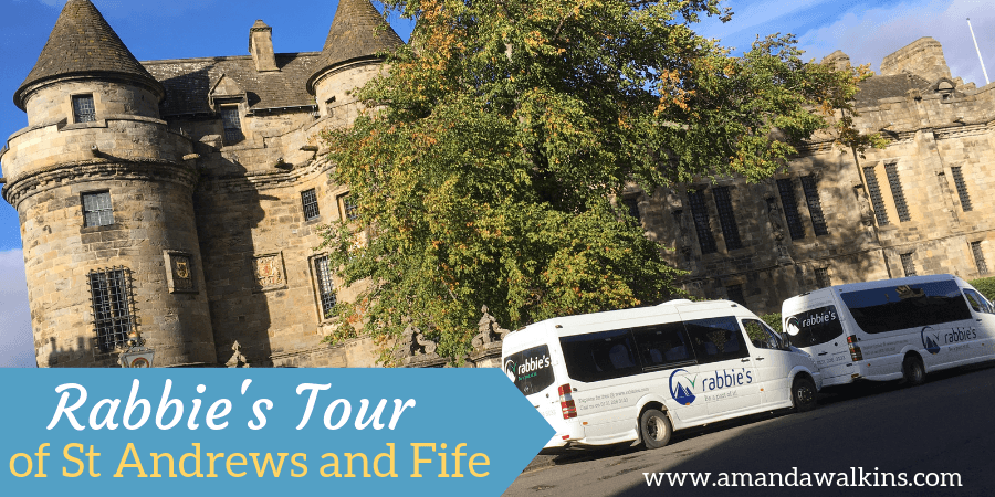 St Andrews and Fife Rabbie's tour in Scotland