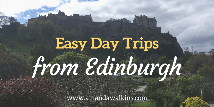 Edinburgh Castle image for easy day trip options from Edinburgh