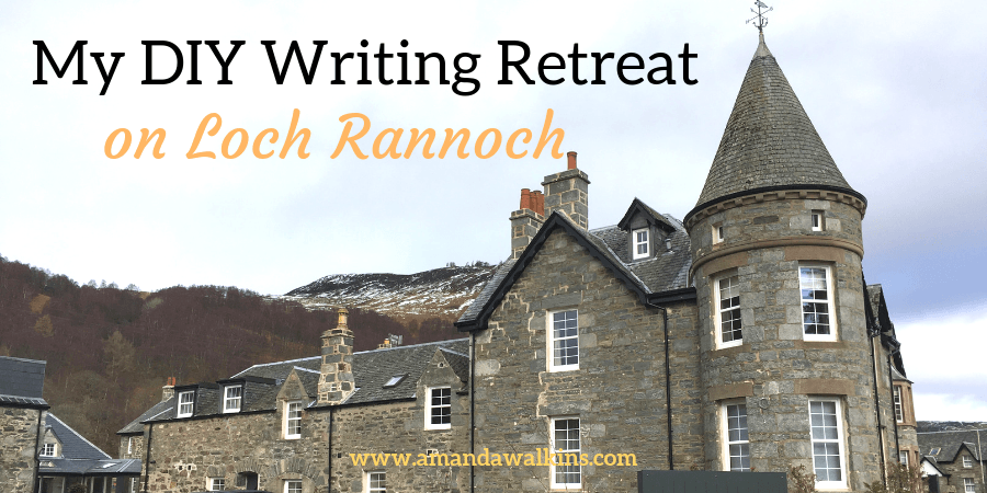 planning a DIY writing retreat in a Scottish hotel