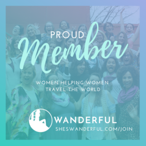 Wanderful member badge